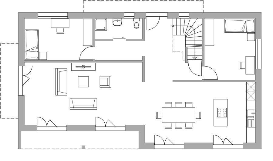 dusche im zimmer einbauen raum und m beldesign inspiration. Black Bedroom Furniture Sets. Home Design Ideas