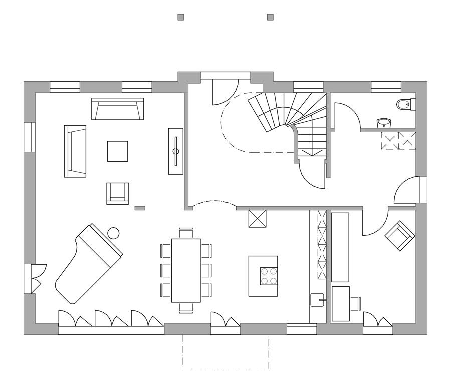 haus 321 das noble haus bautec ag. Black Bedroom Furniture Sets. Home Design Ideas