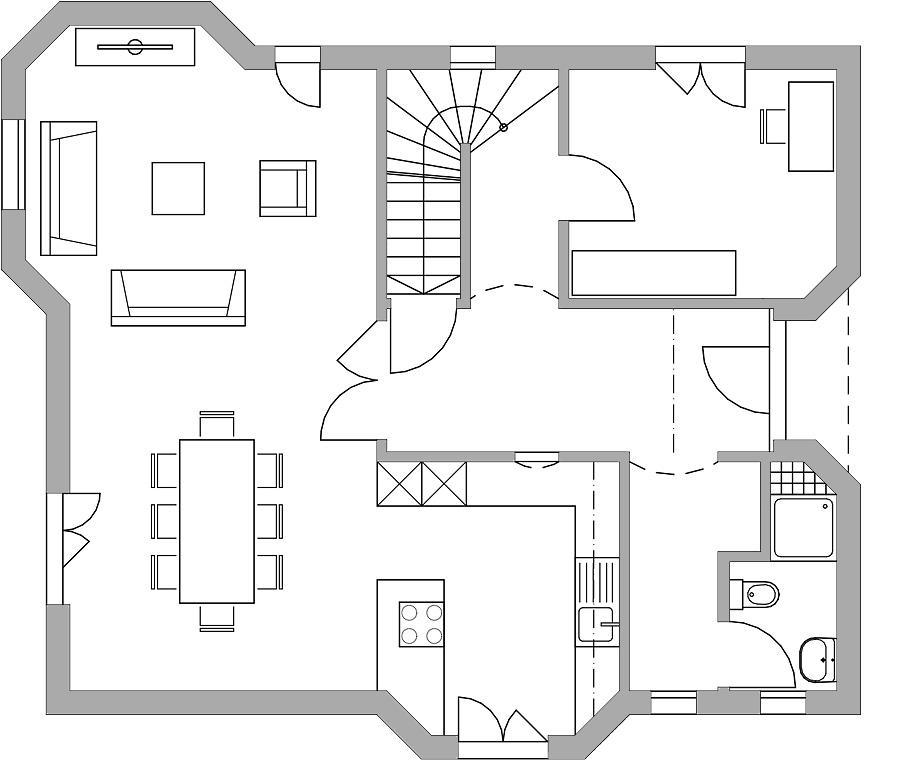 haus 791 bautec ag. Black Bedroom Furniture Sets. Home Design Ideas